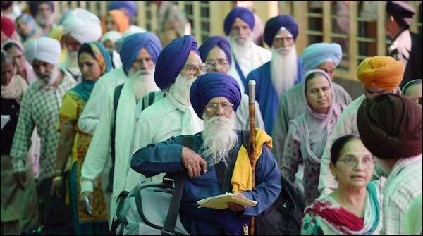 بیساکھی میلے میں شرکت کے بعد سکھ یاتری بھارت روانہ