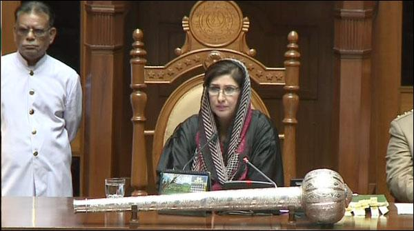 Sindh Assembly Main Wazir E Azam Kay Istefay Say Mutaliq Tehreek Paish