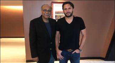 Shahid Afridi Ki Dubai May Najam Sethi Say Mulaqat