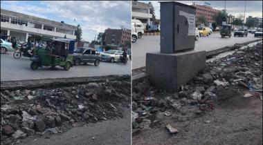 Peshawar Main Jamrud Road Par Taraqqiyati Kam Say Shehri Zahni Aziyat Ka Shikar