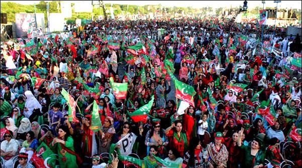 کوئٹہ میں پی ٹی آئی کے جلسے کیلئے میدان سج گیا