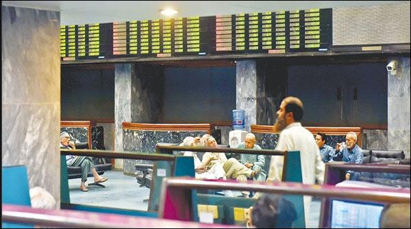 پاکستان اسٹاک، 100 انڈیکس 50742 پر بند