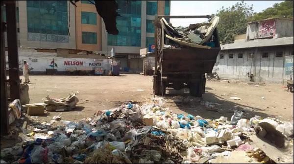 کراچی میں کچرا ٹھکانے لگانے والی کمپنی کچرا پھیلانے میں ملوث