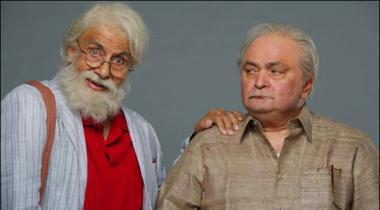 Amitab Bachan Abaa Rashi Kapoor Beta102 Not Out Ki Pehli Tasveer