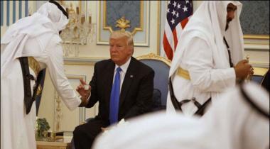 Trump Ki Riwayati Saudi Qehwey Se Tawazo