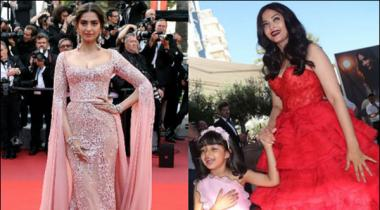 Cannes Film Festivalsonam Our Aishwarya Ky Red Carpet Pr Jalwy