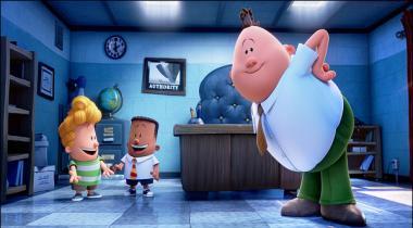 Animated Film Captain Underpants Ki Nae Jhalkian