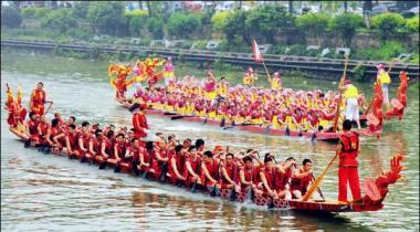 Cheen Dragon Boat Festival Say Qabal Kashtiyon Ki Race