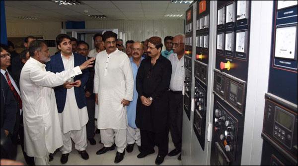 بلاول بھٹو نے نوری آباد گیس پاور پلانٹ کا افتتاح کر دیا
