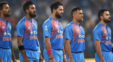 Indian Cricket Team At Rift
