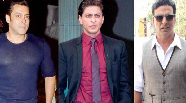 شاہ رخ، سلمان اور اکشے فنون لطیفہ کی 100 امیر ترین شخصیات میں شامل