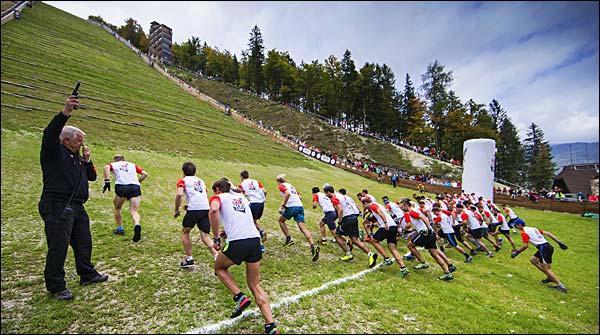 فرانس میں چڑھائی پر دوڑنے کا مقابلہ