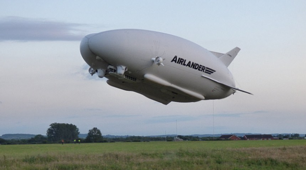 Giant Aircraft Takes Surprise Test