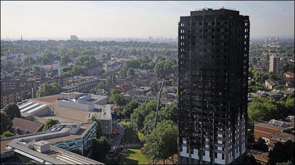 سانحہ گرینفل ٹاور، 65 افراد کے لاپتہ یا ہلاک ہونیکا خدشہ