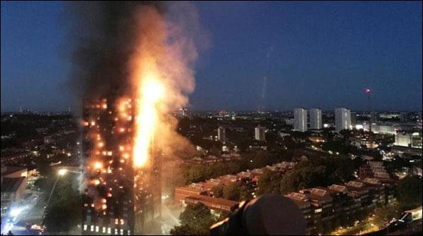 گرینفل ٹاور کے 58لاپتا افراد کو مردہ تصور کیا جائے، برطانوی پولیس