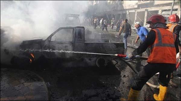Cairro May Bomb Dhamaka Police Ahlkar Halak 4 Zakhmi