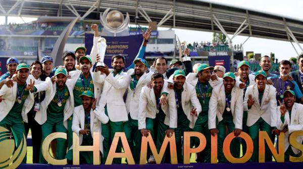 پاکستان بھارت کو تاریخی شکست دے کر چیمپئن ٹرافی کا فاتح بن گیا