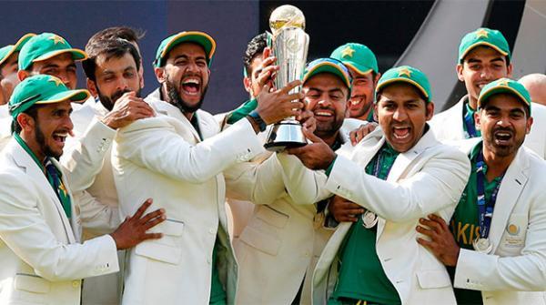 آئی سی سی رینکنگ میں چیمپئن پاکستان کی ترقی