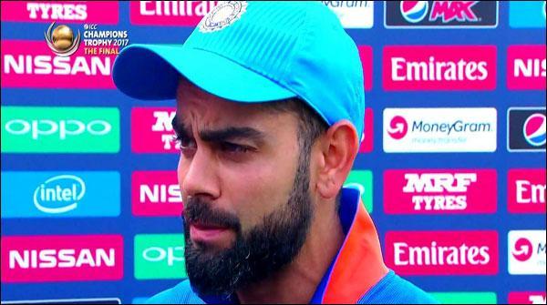 بھارتی کپتان ویرات کوہلی کی پاکستانی ٹیم کو مبارکباد