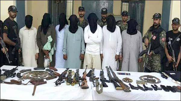 پنجاب رینجرز کی کارروائی 20مشتبہ افراد زیر حراست