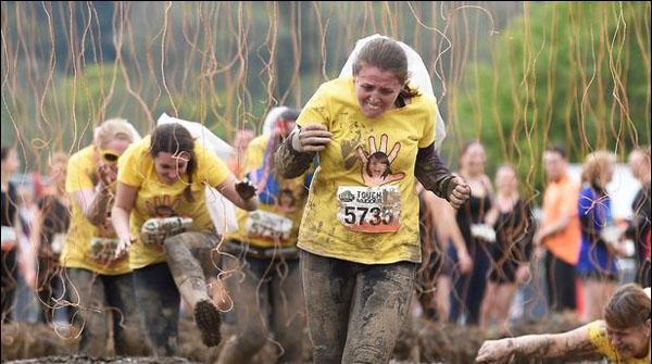Hardest Tough Mudder Race In Scotland