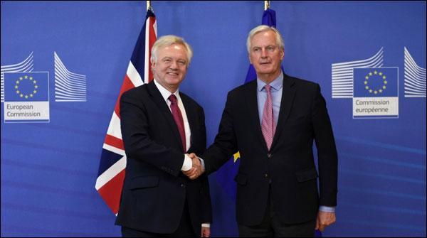 برطانیہ اور یورپی یونین کے مابین بریگزٹ مذاکرات شروع