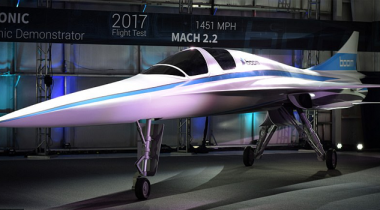 Supersonic Baby Boom Aircraft