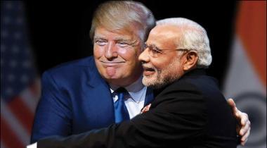 Modi Ke Trump Se Mulaqat Mai Gher Mamooli Rawayyey