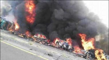 Death Toll Rises To 152 In Oil Tanker Fire Incident