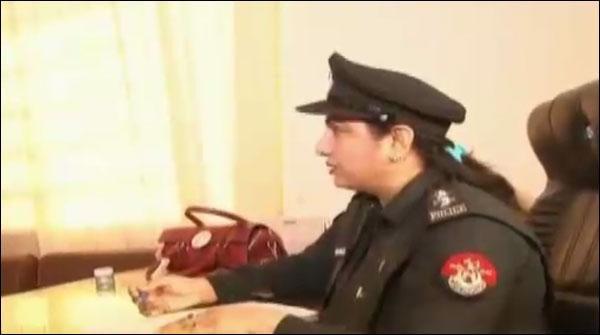 خیبر پختونخوا میں پہلی بار خاتون پولیس افسر ایس ایچ او تعینات