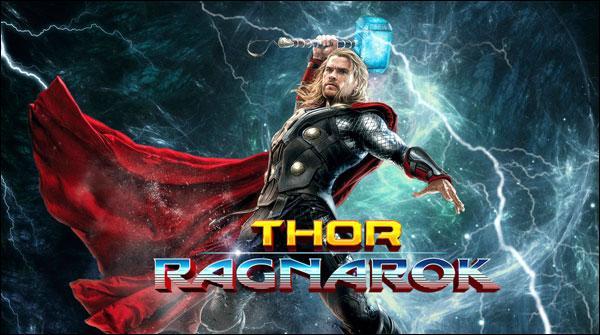 سپر ہیرو فلم تھور کے سیکوئل'' تھور :ریگنوروک'' کی نئی جھلکیاں