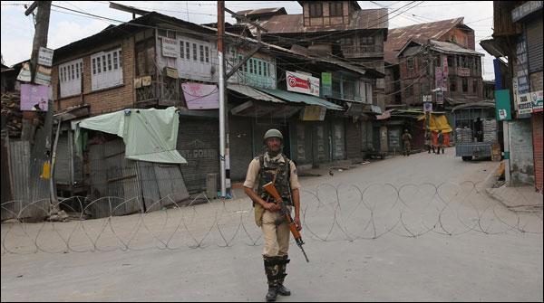 Maqbooza Kashmir Mae Youm E Shuhada Par Mukamal Hartaal Karobaar Band Sarkien Sunsaan