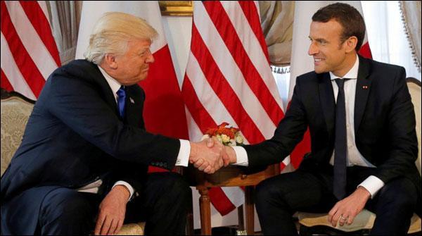 Trump Ka Paris Muahede Par Moakaf Mae Tabdeeli Ka Ishara
