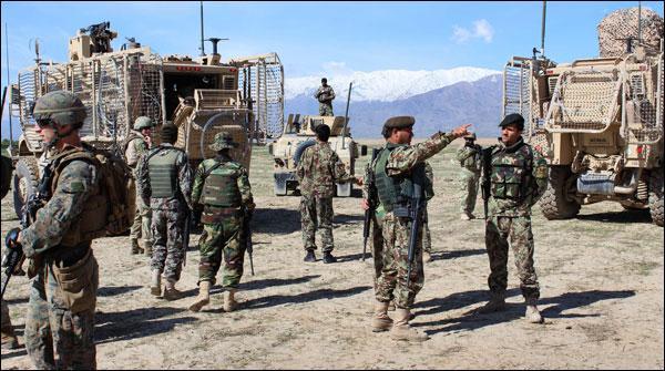 Afghan Soonay Kunar Mai Amrici Hamla Daaish Commander Halak