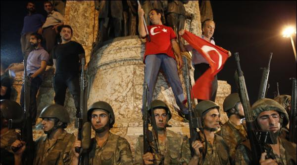 ترکی میں ناکام بغاوت کا ایک سال مکمل