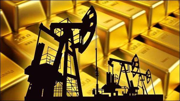خام تیل اور سونے کی قیمتوںمیں اضافے کا رجحان
