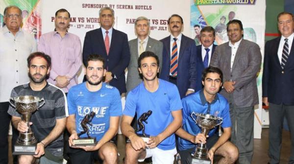 International Squash Series 2017