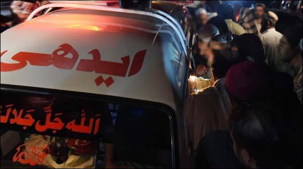 کراچی، ڈکیت کی فائرنگ سے راہگیر قتل، دکاندار نے ڈاکو ماردیا