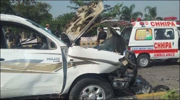 پشاور: فرنٹیئر کور کی گاڑی پر خودکش حملہ، میجر شہید