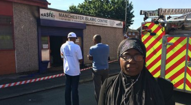 Mosque Targeted In Manchester