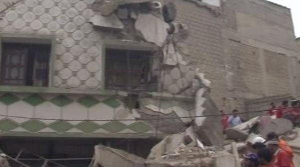 کراچی: لیاقت آباد میں 3منزلہ عمارت گرگئی،5 افراد جاں بحق