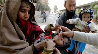 Khyber Pakhtunkhaw 56 Hazar Bachay Polio Kay Qatray Peene Say Mehrom