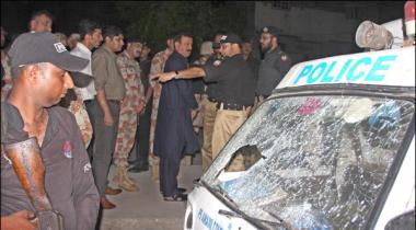 Karachi Police Mobile Par Firing Ka Muqaddama Darj Kar Liya Gaya
