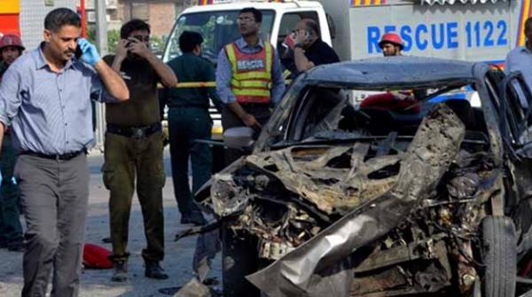 لاہوردھماکا: مبینہ حملہ آور کی عمر 16 سے 17 سال تھی، تفتیش میں پیشرفت