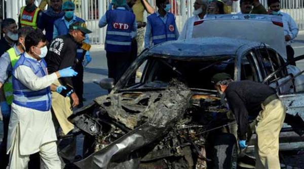 لاہور دھماکا: جائے وقوعہ پر نصب کیمرہ خراب ہونے سے جے آئی ٹی کو تفتیش میں مشکلات