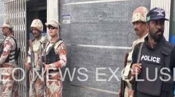 کراچی: شارع قائدین پر نجی بینک میں ڈکیتی، مزاحمت پر مینیجر ہلاک