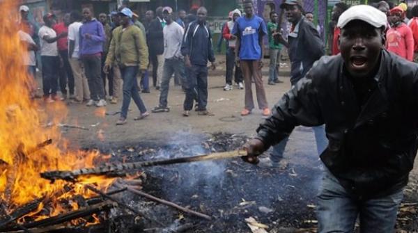کینیا میں صدارتی انتخاب کے بعد پرتشدد احتجاج؛ 5 افراد ہلاک