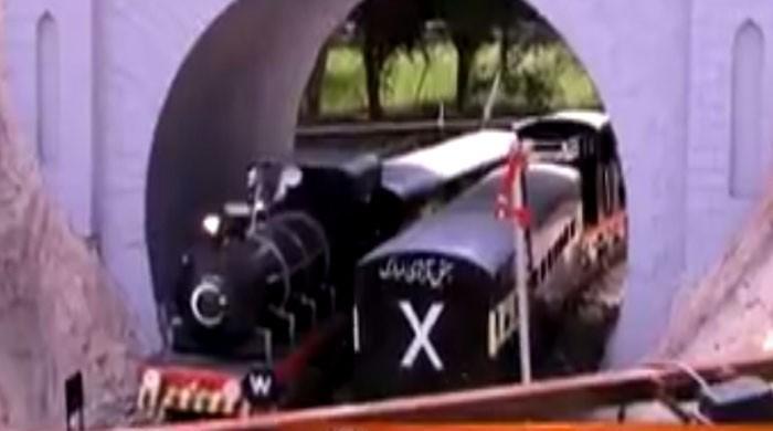 آزادی ٹرین کا سفر شروع