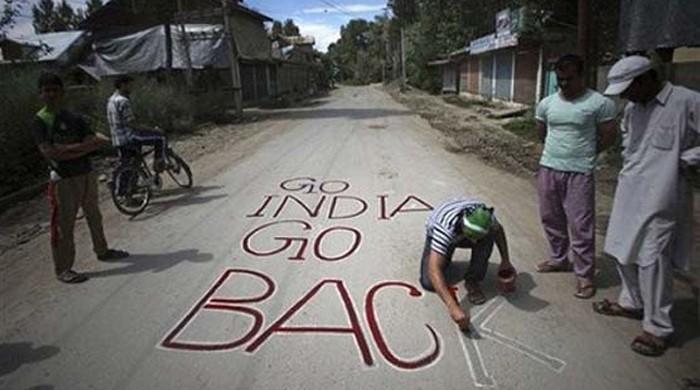 کشمیری عوام آج بھارتی جشن آزادی پر یوم سیاہ منا رہے ہیں