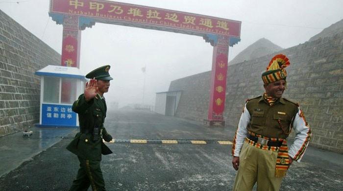 چین اور بھارت کے درمیان سرحدی علاقے میں جھڑپ